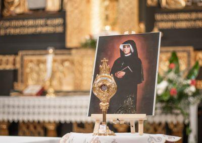 Wprowadzenie relikwii świętej Faustyny